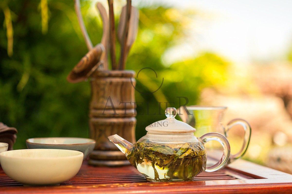Ryokucha (green tea): gyokuro, sencha, bancha